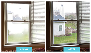 Before and After Glass Service
